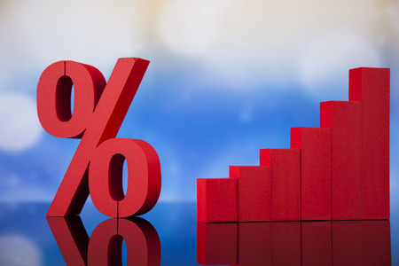 percent sign: Percent sign , natural colorful tone Stock Photo