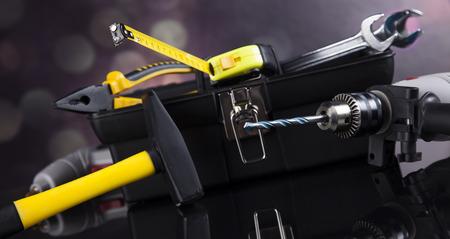 shrewd: Still life with constructor tools