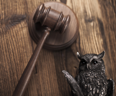 magistrate: Gavel,Law theme, mallet of judge Stock Photo