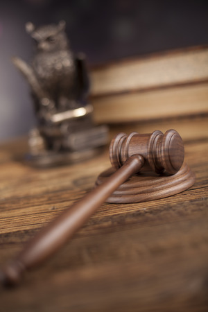 mallet: Gavel, Mallet of justice concept Stock Photo