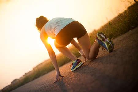 woman fitness:
