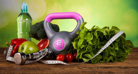 Healthy Lifestyle-Konzept, Ernährung und Fitness