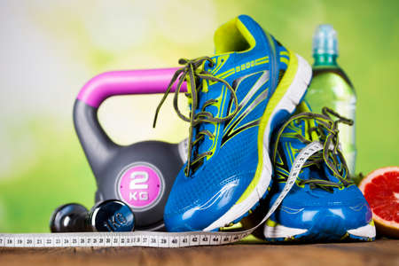 toning: Healthy lifestyle concept, Diet and fitness Stock Photo