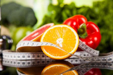 salud y deporte: Concepto de estilo de vida saludable, la dieta y la forma f�sica