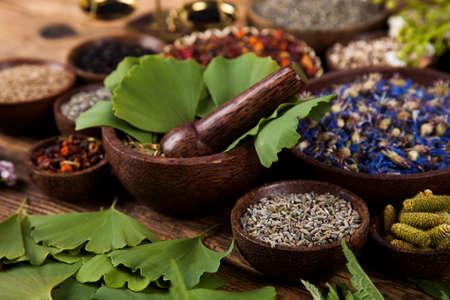 bewitch: Natural medicine, herbs, mortar