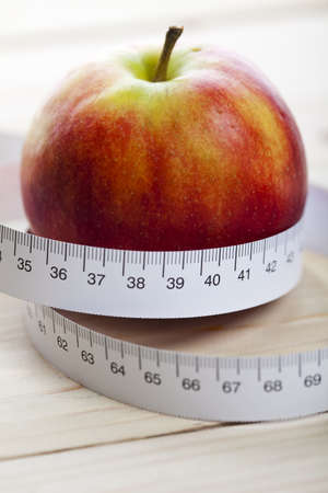 foodie: Apple and measurement tape