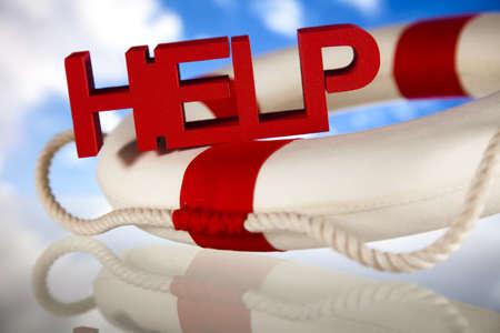 aro salvavidas: Lifebuoy y ayuda concepto