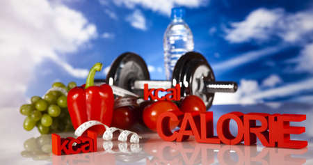 calorie: Fitness, calorie Stock Photo