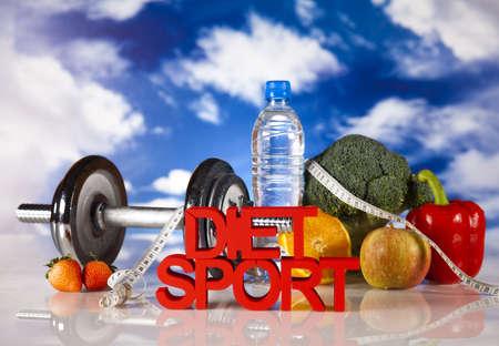 calorie: Sport diet, Calorie, measure tape