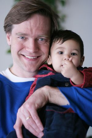 Life's Good with My Daddy! Stock Photo - 1341245