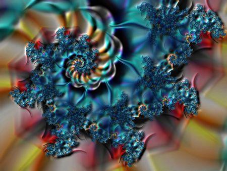 starshine: Spiral fractal