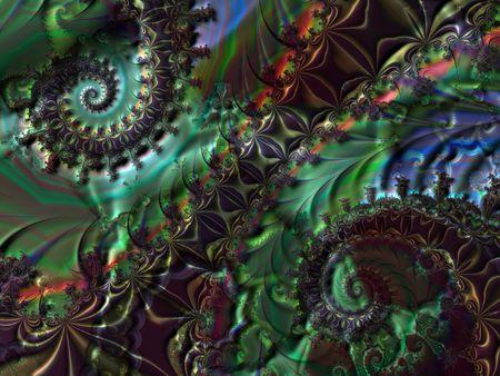 starshine: Double spiral fractal