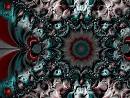 starshine: Symmetrical spiral fractal