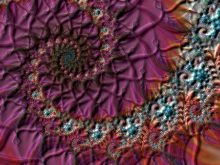 starshine: Spiral lined fractal