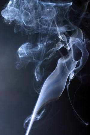 different versions of smoke loops Stock Photo