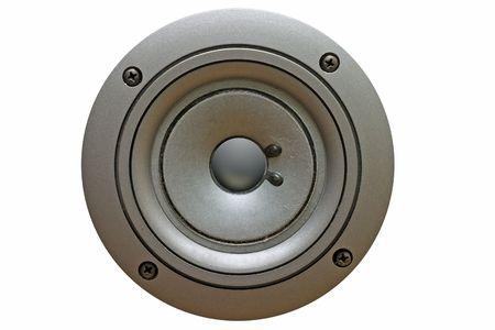loud speaker: Loud speaker isolated on white