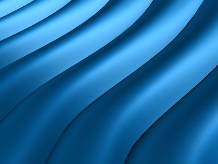 Abstract blue wavy lines for background