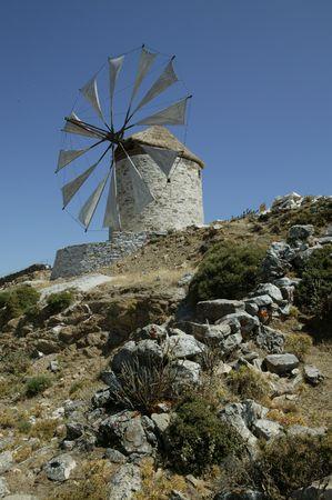 naxos: Naxos Windmill