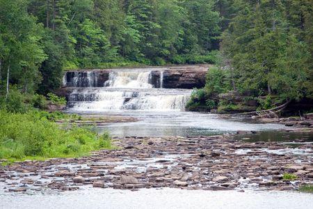 Lower Tahquamenon falls in Paradise, MI photo