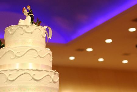 Wedding Cake Stock Photo