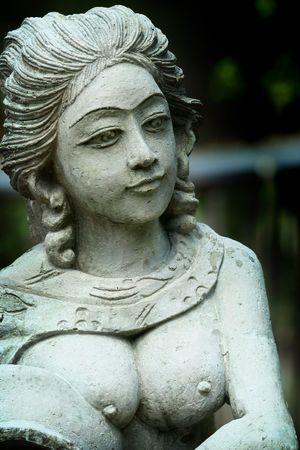 Statue of an indian women.
