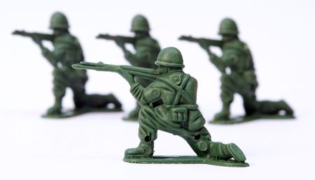 pistolas: Soldado de juguete