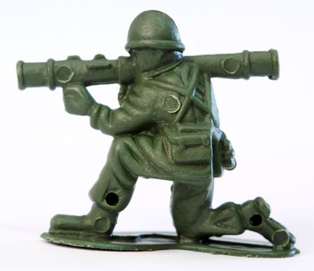 Toy Soldier Stock Photo