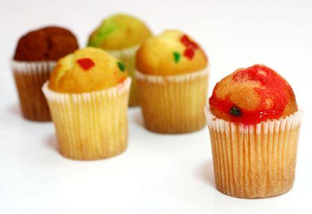Baby Muffins. Stock Photo