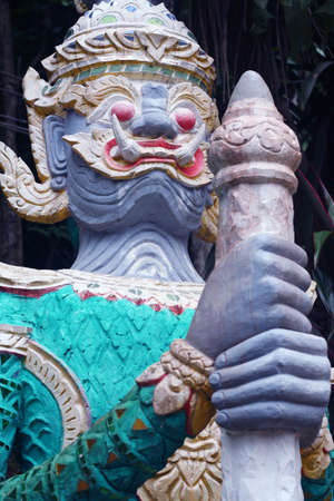 Temple guardian,usually seen at Thai Temples.