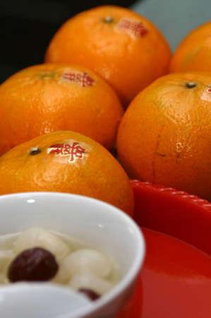 Oranges for wedding.