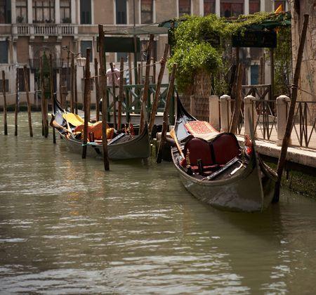 punting: gondolas, Venice