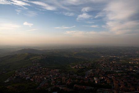 top point of view, San Marino Stock Photo - 611094