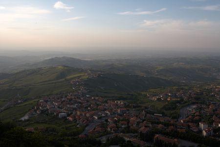 top point of view, San Marino Stock Photo - 611093