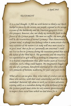 Reich testament photo