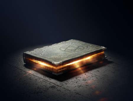마법의: 초능력을 가진 마법의 책 - 3D 작품
