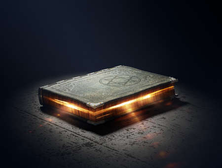 magic mystery: Magic Book with super powers - 3D Artwork