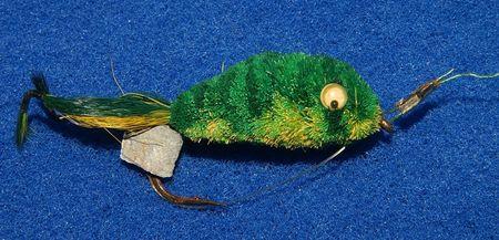 pickerel: Imitation frog bait