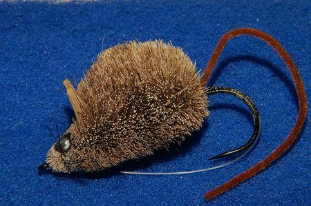 pickerel: Imitation mouse bait