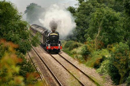 king edward: King Edward I locomotive Stock Photo