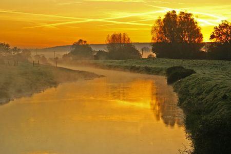 moorland: North Somerset moorland early morning November