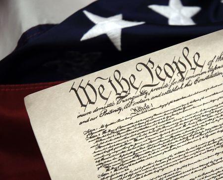 constitucion: Comienzos de Am�rica - Betsy Ross bandera colonial y Constituci�n de los Estados Unidos