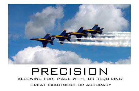 exactness: Precision - US Navy Blue Angels