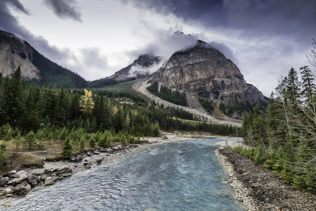 unincorporated: Field is an unincorporated community of approximately 169 people located in the Kicking Horse River valley of southeastern British Columbia, Canada, within the confines of Yoho National Park.