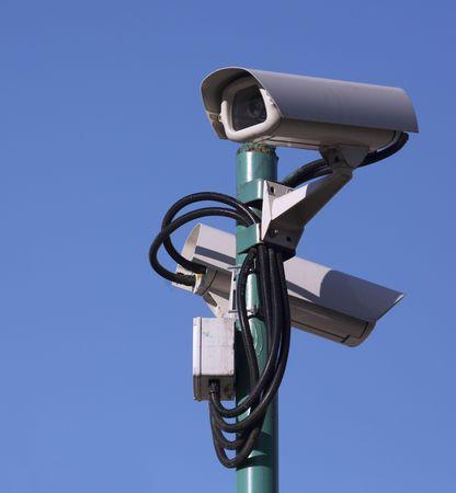 supervisi�n: C�maras de v�deo vigilancia