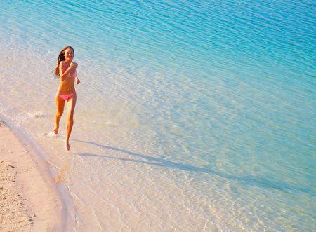 Running on water Stock Photo - 1311464