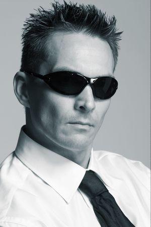 Man  Bodyguard Stock Photo
