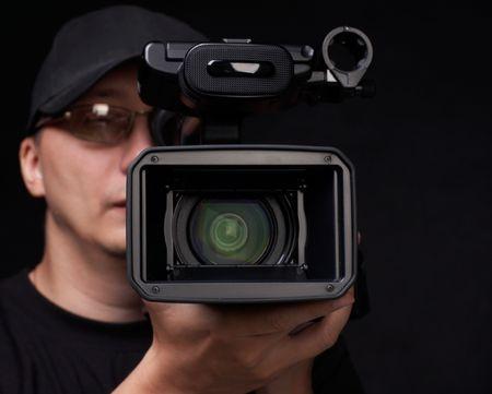 film production: digital video camera