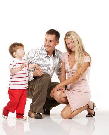 Happy family Stock Photo - 3371750