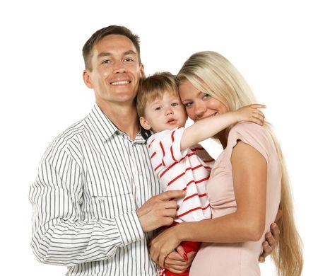 Happy family Stock Photo - 3371753