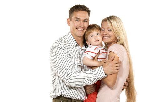 Happy family Stock Photo - 3371751